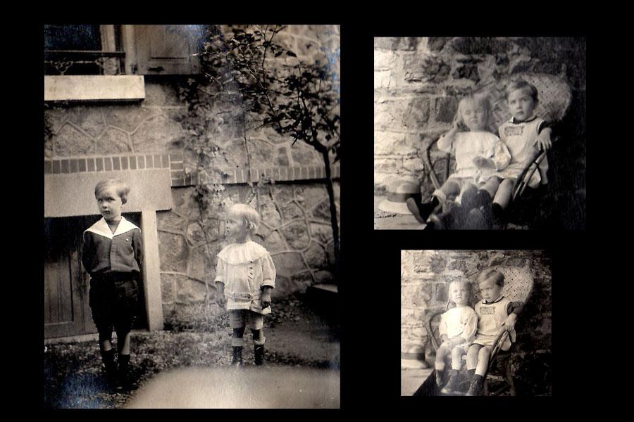 Jean et Lucien 1917
