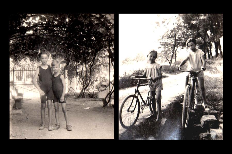Jean et Lucien vers 1920