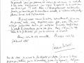 Lettre de Jean Gosset à Roger Secretain - 05 11 1940 - 2