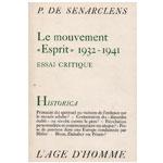 Pierre de Sénarclens - Le mouvement « Esprit » (1932-1941)