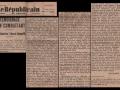 Article de Jean Gosset dans le Républicain du centre - 7 août 1940