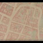 Rues Durantin, des Abbesses et Lepic Archives Mairie de Paris 119e feuille PP/11834/B