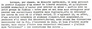 Lettre de Jean Guerrier