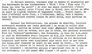 Lettre de Jean Guerrier, compagnon à Dessauer-Ufer