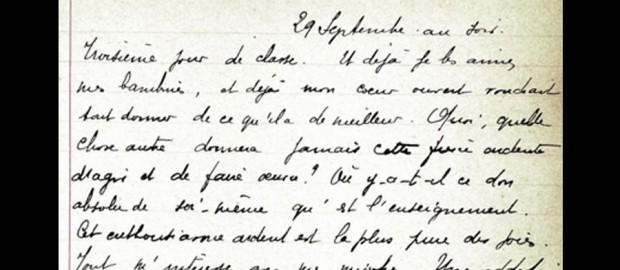 Notes sur ma classe - Marcelle Bernard 1906-1909