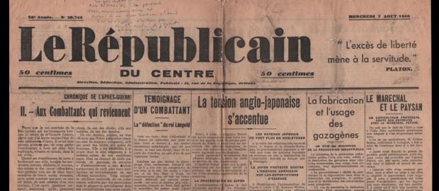 Le Républicain du orléanais et du Centre