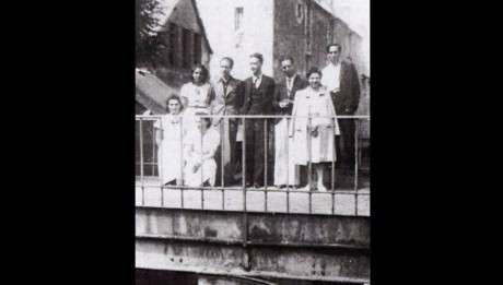 Avec ses élèves au lycée de Vendôme - 1941