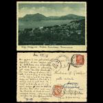 Carte postale à Marie-Camille Voyage de noces - 1935