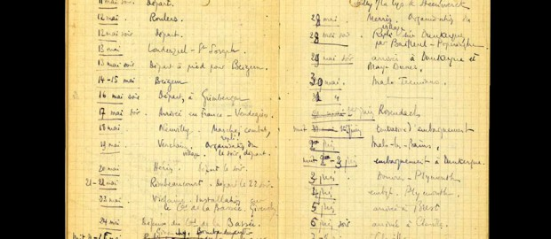 Chronologie du 9 mai au 22 juin 1940