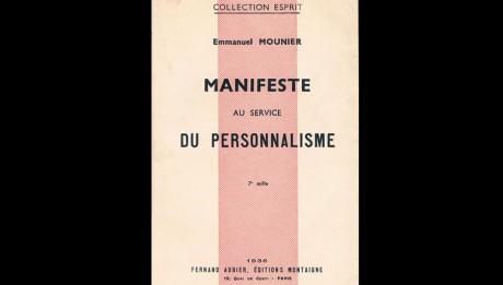 Le Manifeste au service du personnalisme