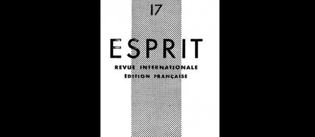 Revue Esprit - Février 1934