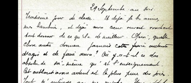 Notes sur ma classe - Marcelle Bernard 1906-1909