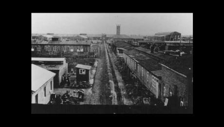 Vue générale du camp de Neuengamme
